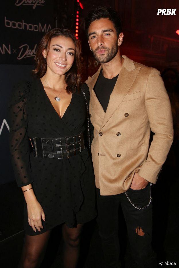 Rachel Legrain-Trapani et Valentin Leonard à la soirée de lancement de la collab BoohooMAN x Dadju