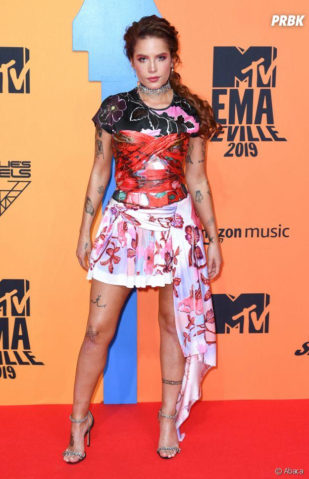 MTV EMA 2019 : Halsey sur le red carpet