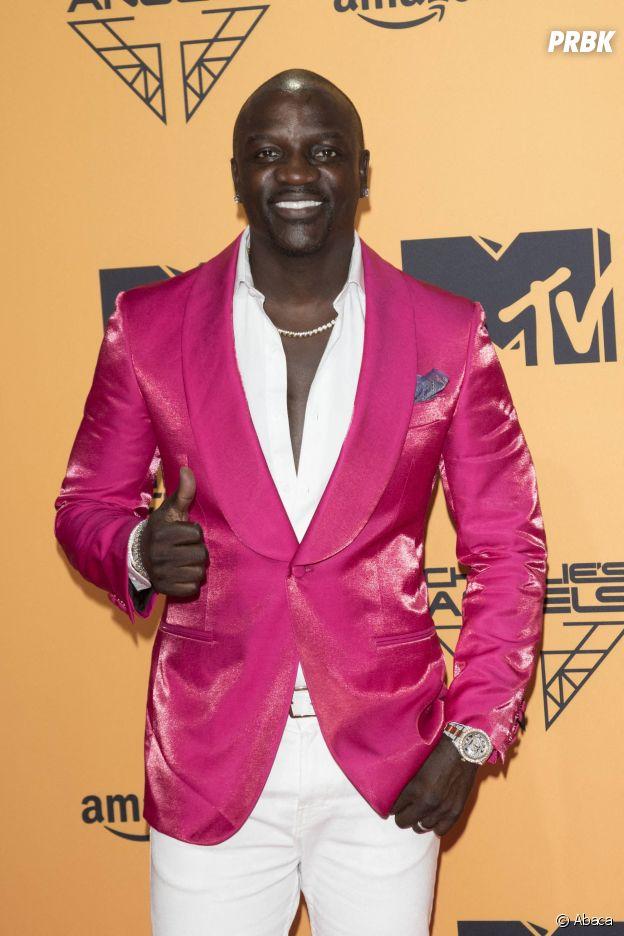 MTV EMA 2019 : Akon sur le red carpet
