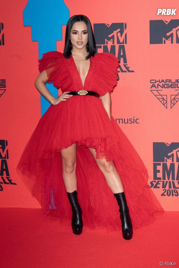 MTV EMA 2019 : Becky G sur le red carpet