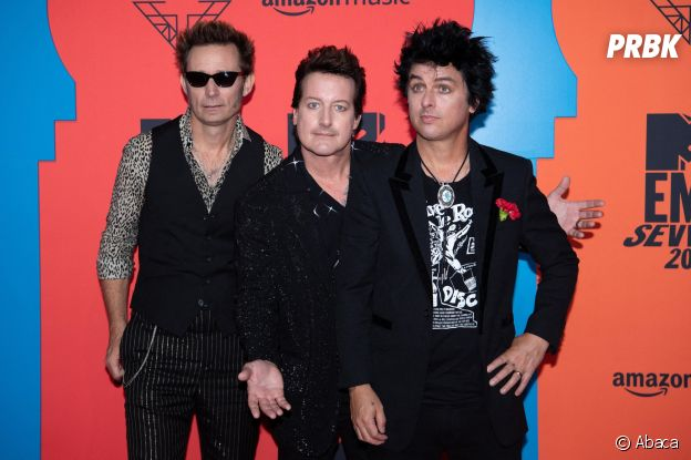MTV EMA 2019 : Green Day sur le red carpet