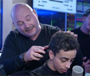 Bilal Hassani : Cauet lui rase la tête en direct sur NRJ le 12 novembre 2019