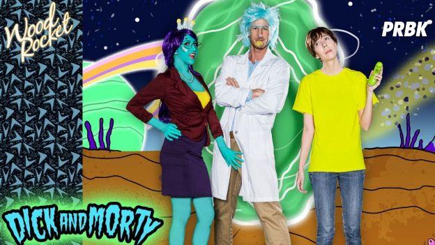 Rick & Morty : une parodie porno de la série