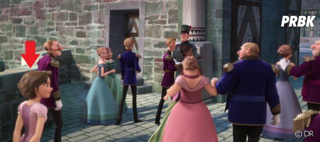 Raiponce dans La Reine des Neiges