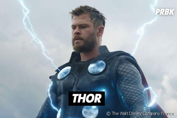 Chris Hemsworth joue Thor