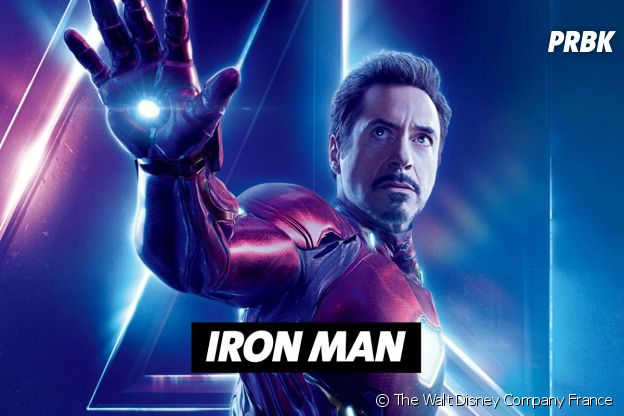 Robert Downey Jr joue Iron Man