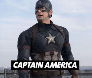 Chris Evans joue Captain America