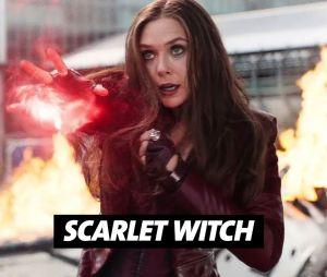 Elizabeth Olsen joue Scarlett Witch