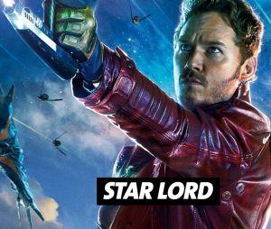 Chris Pratt joue Star Lord