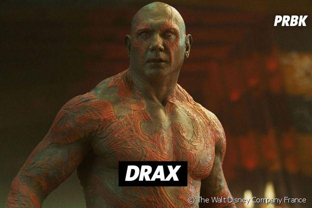 David Bautista joue Drax