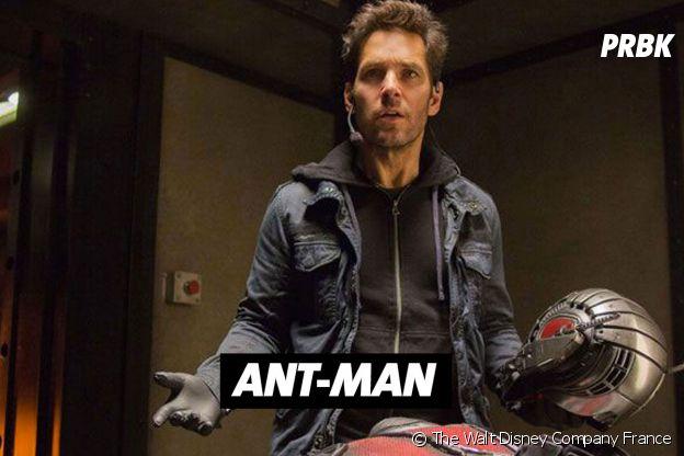 Paul Rudd joue Ant-Man