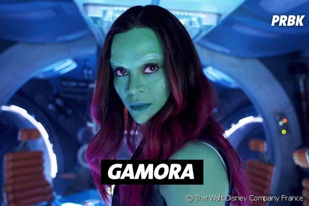 Zoe Saldana joue Gamora