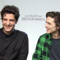 Timothée Chalamet et Louis Garrel : talent caché, tournage... Ils répondent à l'Interro Surprise