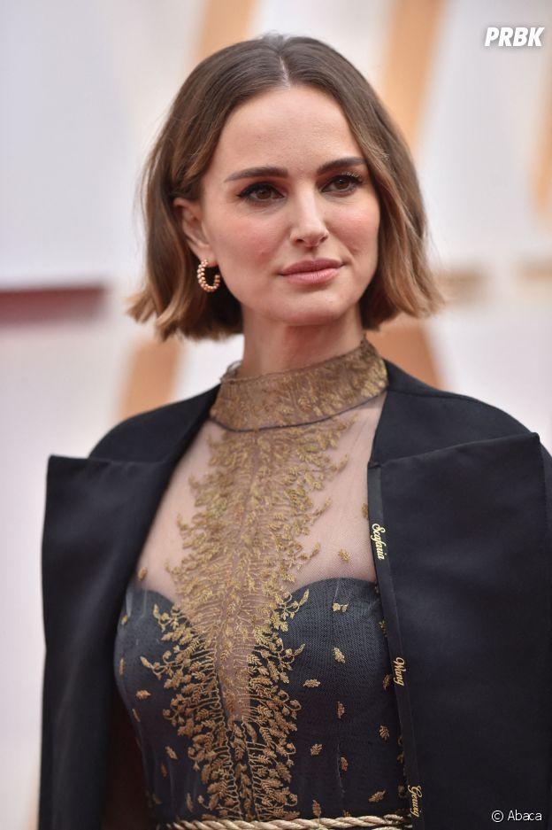 Natalie Portman sur le red carpet de la 92ème cérémonie des Oscars, ce dimanche 9 février 2020 à Los Angeles