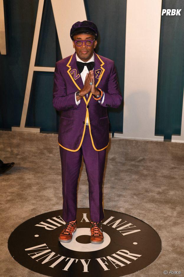 Spike Lee sur le red carpet de la 92ème cérémonie des Oscars, ce dimanche 9 février 2020 à Los Angeles