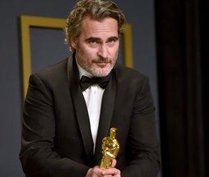 Joaquin Phoenix sur le red carpet de la 92ème cérémonie des Oscars, ce dimanche 9 février 2020 à Los Angeles