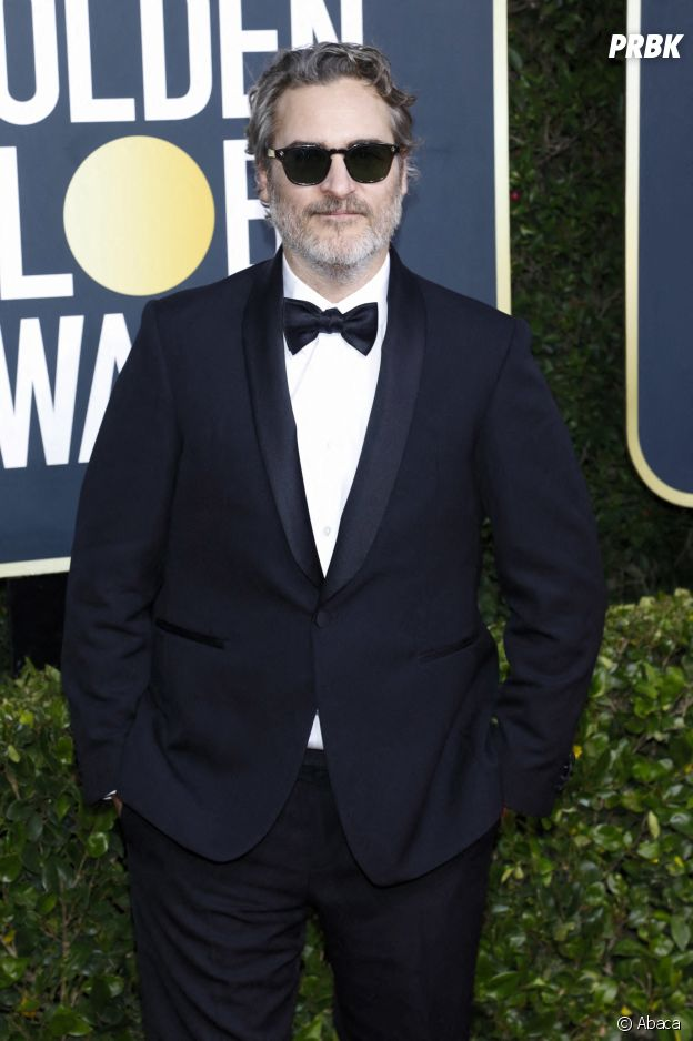 Joaquin Phoenix sur le red carpet des Golden Globes 2020