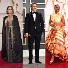 Oscars 2020 : Natalie Portman, Joaquin Phoenix et Billy Porter s'affichent dans des tenues engagées