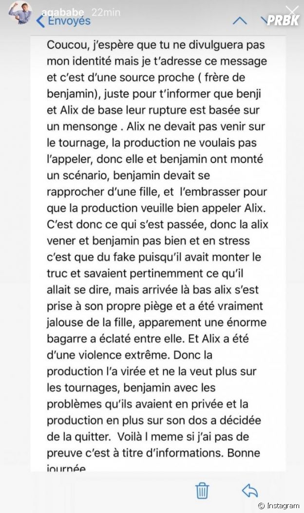 Benjamin Samat (Les Marseillais aux Caraïbes) et Alix, leur rupture fake ?