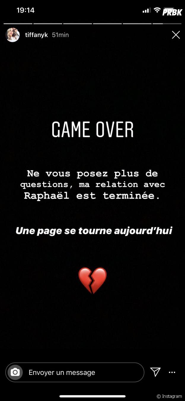 Raphaël Pépin et Tiffany, la rupture !