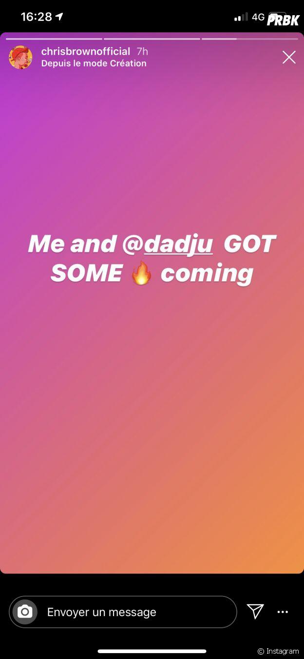 Chris Brown annonce un projet avec Dadju