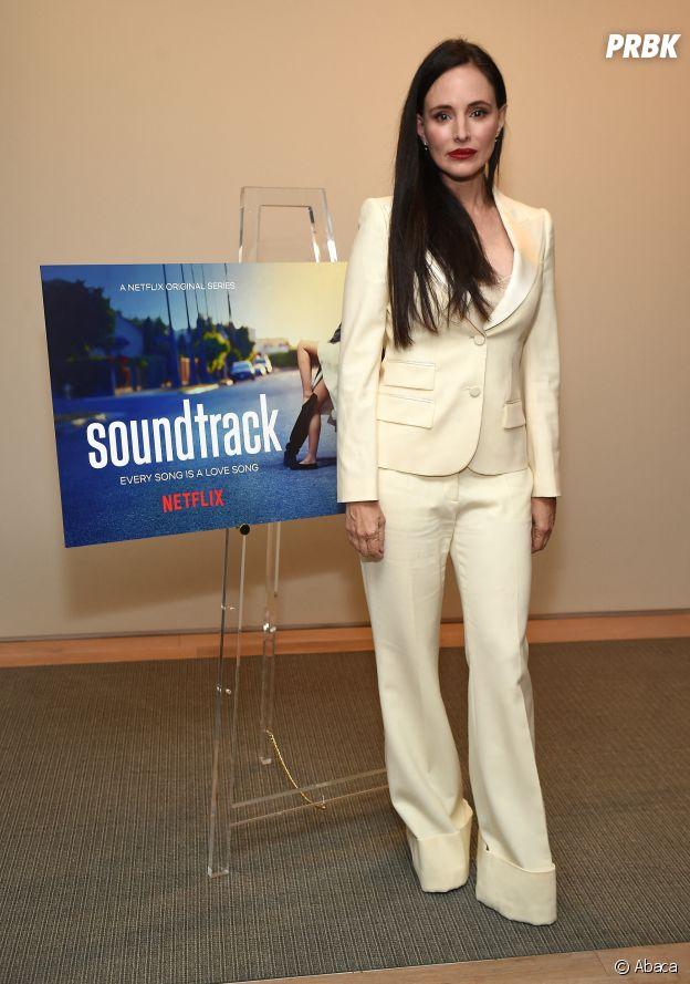 Madeleine Stowe lors de la promotion de la série Soundtrack