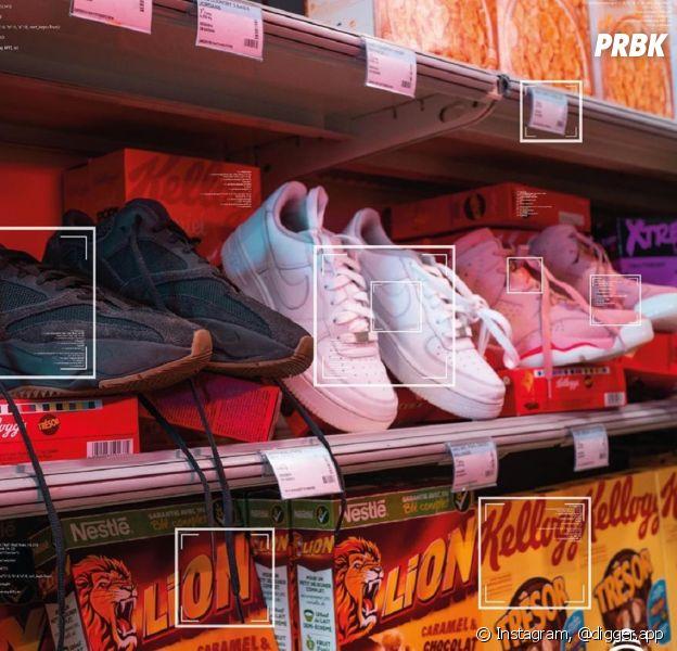 Digger : l'appli pour identifier les sneakers à partir d'une photo