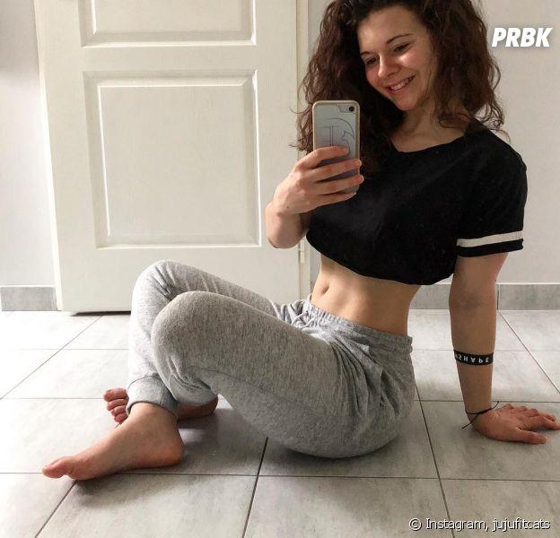 JujuFitCats dévoile son corps sans retouche pour dénoncer le diktat du corps parfait