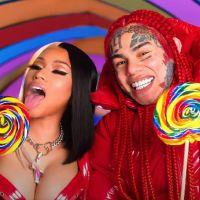 6ix9ine feat. Nicki Minaj : bonbons, jacuzzi, chatons... Le clip WTF, coloré et sexy de Trollz