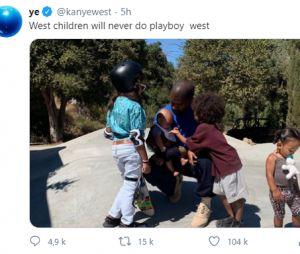 Kanye West clashe Kim Kardashian sur Twitter et poste encore plusieurs tweets délirants : elle voudrait divorcer du rappeur