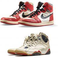 Des Air Jordan portées par Michael Jordan vont être mises aux enchères : records en vue
