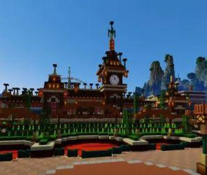 Disneyland Paris version Minecraft : découvrez le célèbre parc d'attractions reproduit à l'identique