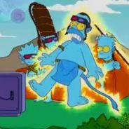 Les Simpsons ... la série parodie le film Avatar pour un épisode
