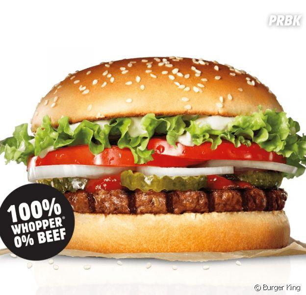 Burger King sort son nouveau Whopper, le Rebel Whopper (sans viande), en France