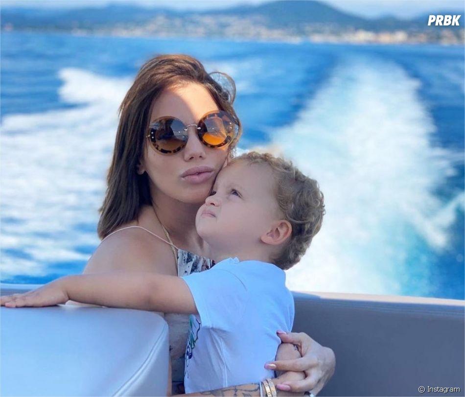 Manon Marsault pose avec Tiago sur Instagram