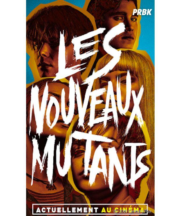 Les Nouveaux Mutants l'affiche