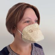 Coronavirus : ce masque en chanvre d'une société française est biocompostable