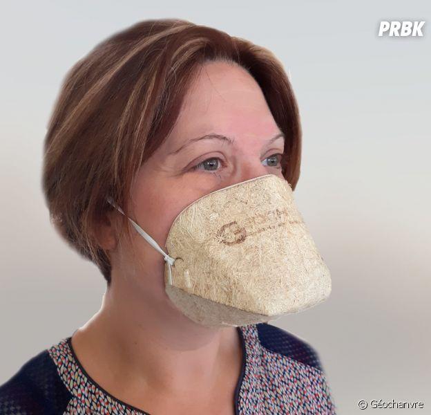 Coronavirus : des masques biocompostables et made in France