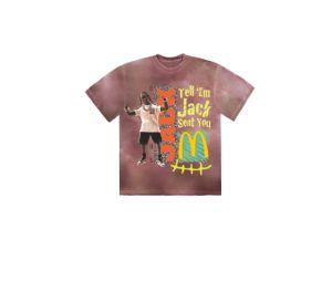 Travis Scott x McDonald's : le tee shirt Cactus Jack