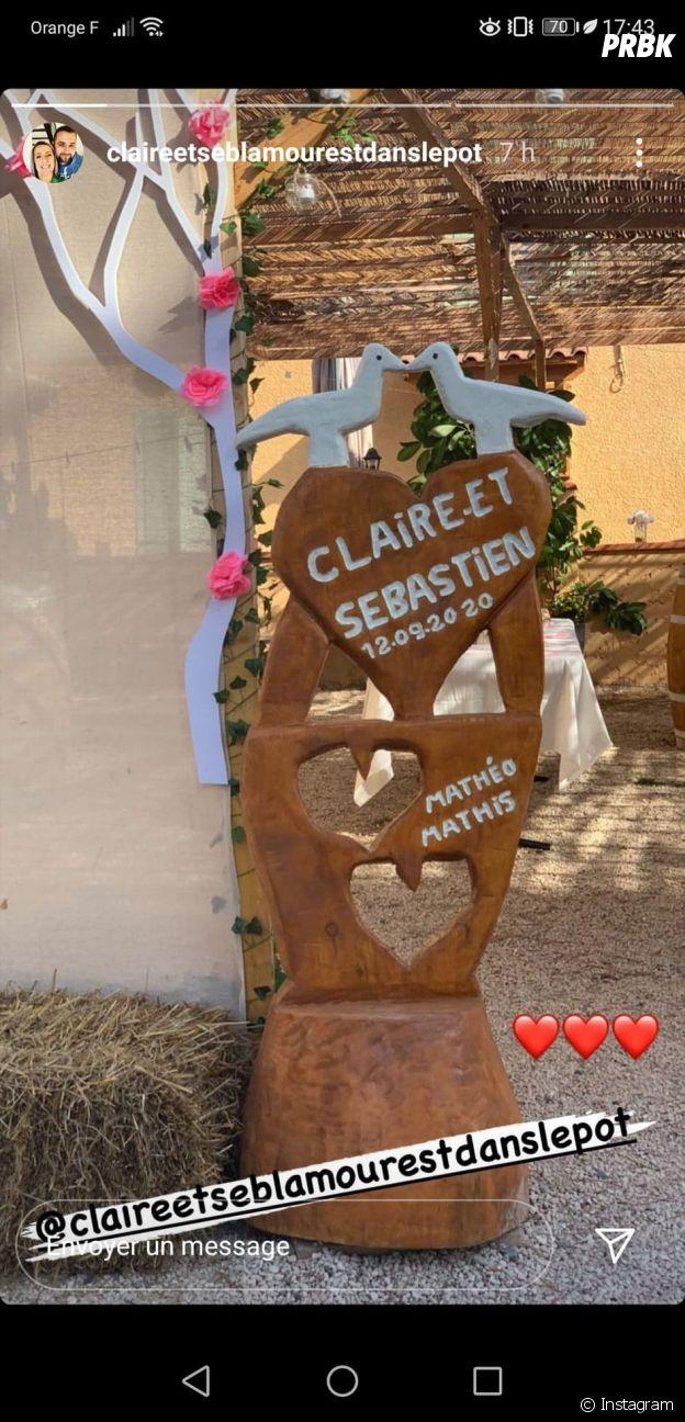 Claire (L'amour est dans le pré 2015) mariée à Sébastien : son bel hommage à son fils Mathis