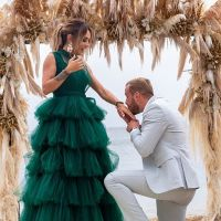 Julien Bert et Hilona se sont fiancés sur le tournage des Princes et les Princesses de l'amour 4 💍