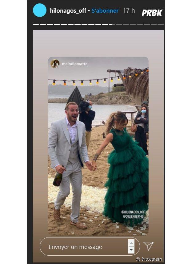 Julien Bert et Hilona se sont fiancés sur le tournage des Princes et les Princesses de l'amour 4