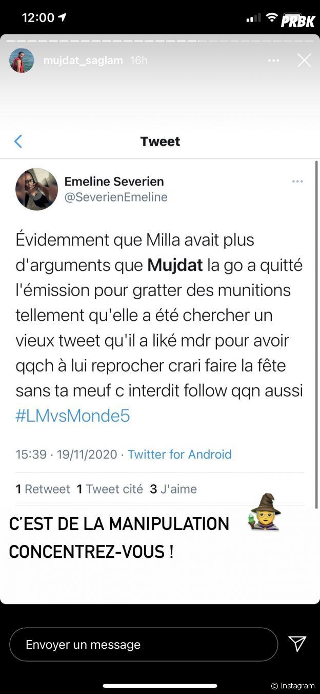 Mujdat (Les Marseillais VS Le reste du monde 5) tacle Milla Jasmine