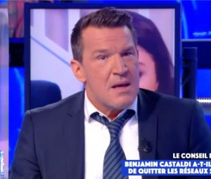 Benjamin Castaldie se confie sur les menaces de mort contre ses enfants suite à son clash avec René Malleville dans TPMP le 20 novembre 2020 sur C8
