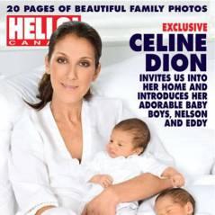 Céline Dion ... Sa première photo avec ses jumeaux