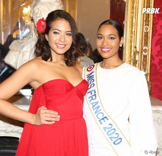 Clémence Botino, Miss France 2020, et Vaimalama Chaves, Miss France 2019