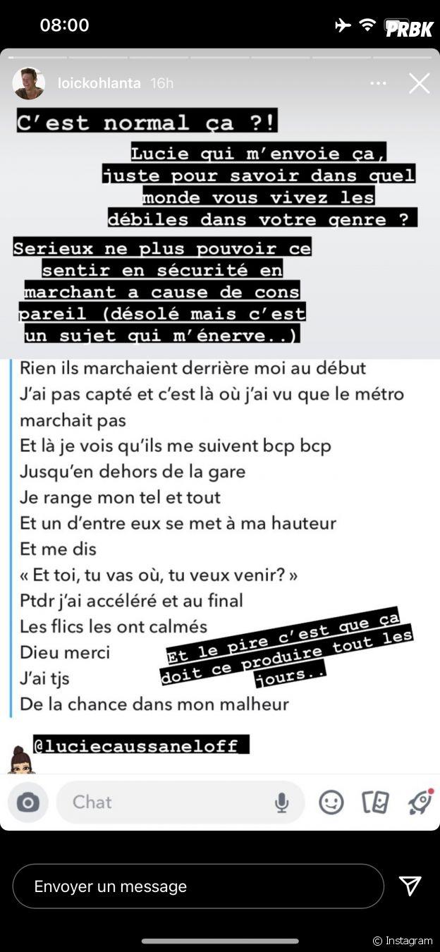 Lucie Caussanel victime de harcèlement de rue : Loïc (Koh Lanta 2020) pousse un coup de gueule
