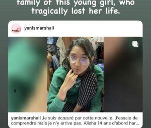 Eva Longoria bouleversée par la terrible mort d'Alisha (14 ans), elle lance un appel aux dons