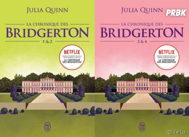 La Chronique des Bridgerton : les romans sont republiés aux éditions J'ai Lu