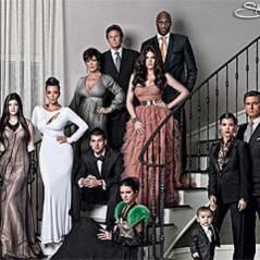 La famille Kardashian ... leur photo de Noël